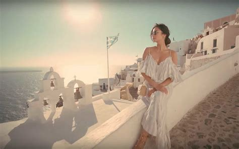 Watch Shay Mitchell's Greek Island Vacation Video   Travel   Leisure