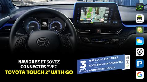 toyota belgique systeme multimedia toyota touch