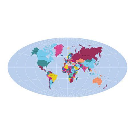 printable world map  labeled printableecom