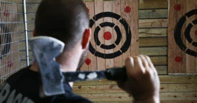 axe throwing target diy ready    steps clutch axes