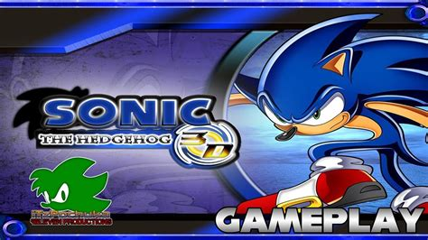 sonic fan games online fangame sonic the hedgehog 3d gameplay youtube