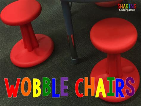 kindergarten do you wobble wobble chair