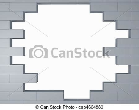 brick wall drawing stock illustration of brick wall high resolution broken 3d