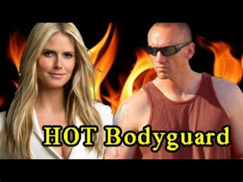 heidi klum admits to with bodyguard