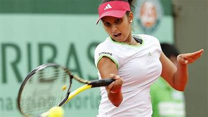 Tennis Mirza Sania Player Indian Wallpapers Sports