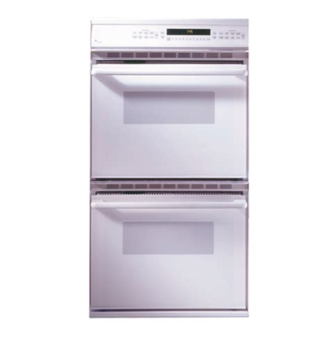 ge monogram  american design white double convection wall oven zekwaww ge appliances