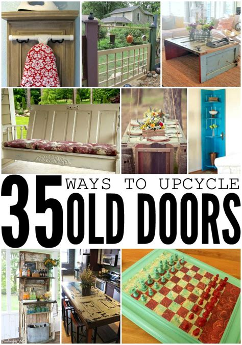 How To Make Pantry Doors by 35 Ways To Upcycle Old Doors