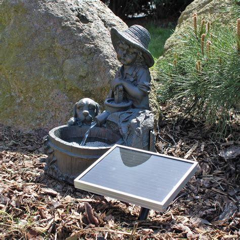 Springbrunnen Für Terrasse by Solar Springbrunnen F 252 R Garten Wasserspiel