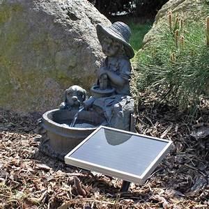 Wasserspiel Für Terrasse : solar springbrunnen f r garten wasserspiel ~ Michelbontemps.com Haus und Dekorationen