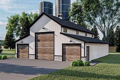 Barn Pole Plan Plans Garage Rv Building