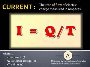 Electricity Formula