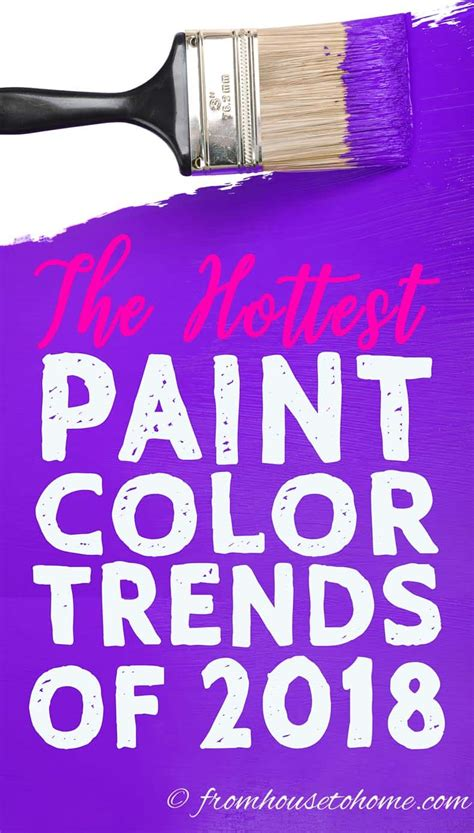 sneak preview of the 2018 paint color trends