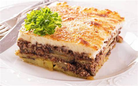 cuisine grecque moussaka recette moussaka grecque traditionnelle économique et simple gt cuisine étudiant
