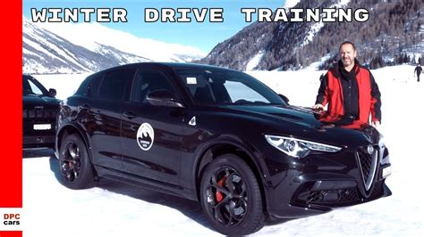 Fiat Alfa Romeo by Winter Drive With Alfa Romeo Jeep And Fiat