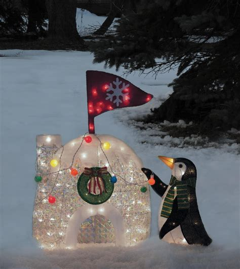 penguin igloo christmas decoration wwwindiepediaorg