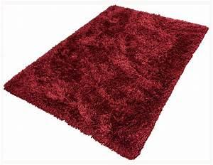 Antirutschmatte Teppich Auf Teppich : teppich shaggy comfort luxus hochflor teppich 160x230 cm rot ~ Markanthonyermac.com Haus und Dekorationen