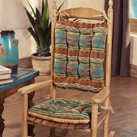 saguaro trail southwest rocker pad set