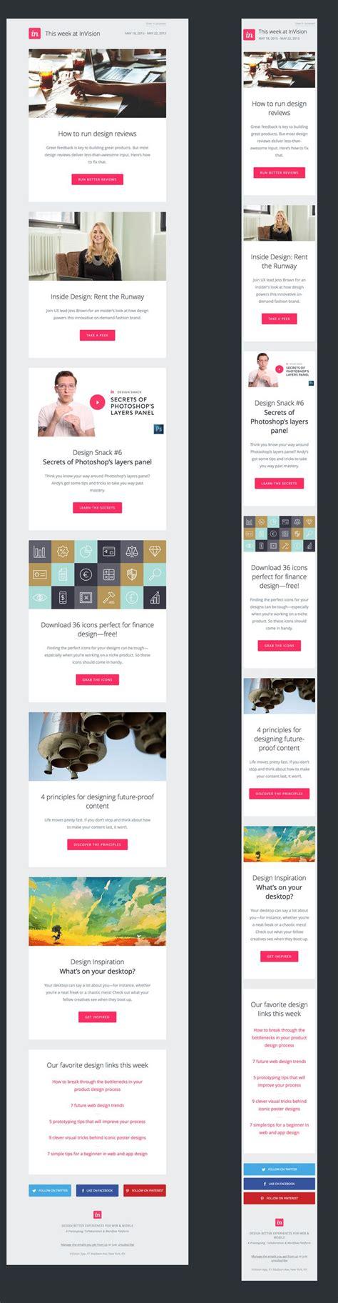 enewsletter template design best 25 newsletter design ideas on pinterest newsletter