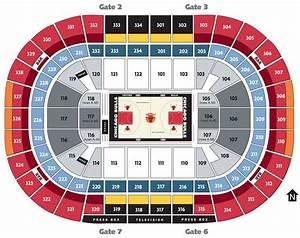 Nba Basketball Arenas Chicago Bulls Home Arena United