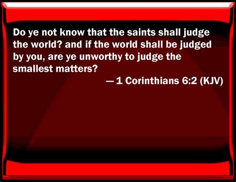 1 Corinthians 62