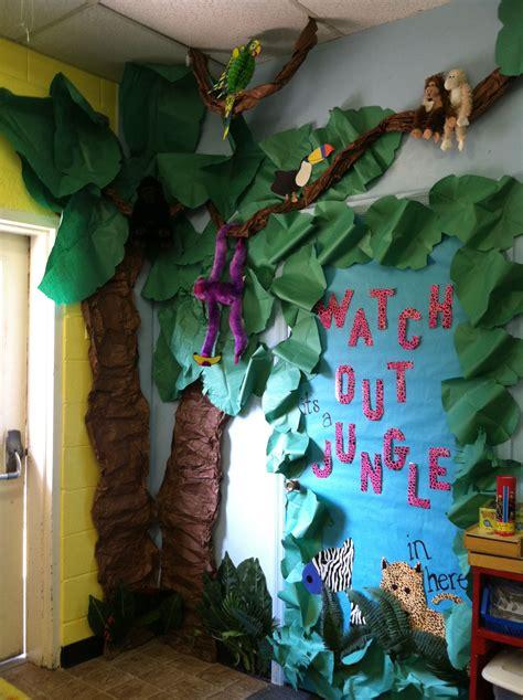 Junglesafari Theme Classroom  Jungle Theme Classroom
