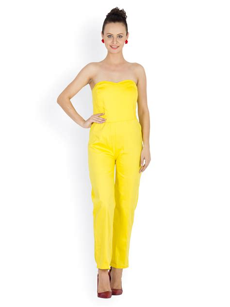 womens yellow jumpsuit yellow jumpsuit for fashion ql