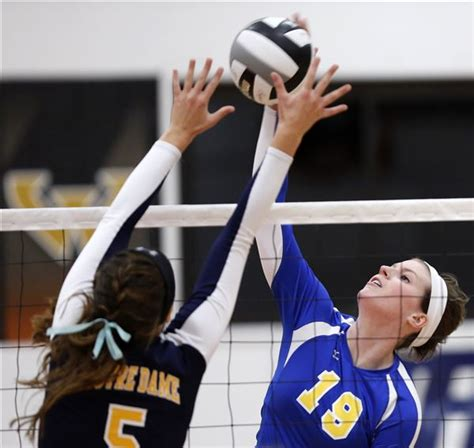 st ursula takes  trac volleyball crown