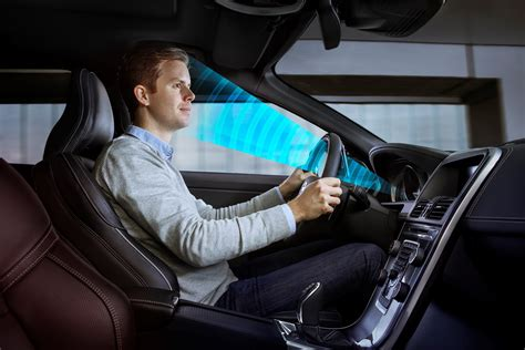 volvo cars conducts research  driver sensors  order