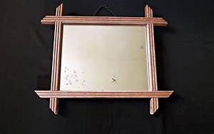 Miroir Ancien Le Bon Coin : miroir ancien en bois r ve de brocante ~ Teatrodelosmanantiales.com Idées de Décoration