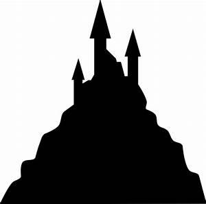 Best Castle Silhouette #17385 - Clipartion.com