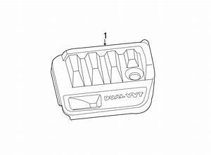 Chrysler Sebring Engine Cover  2 4 Liter  2 4 Liter W  O