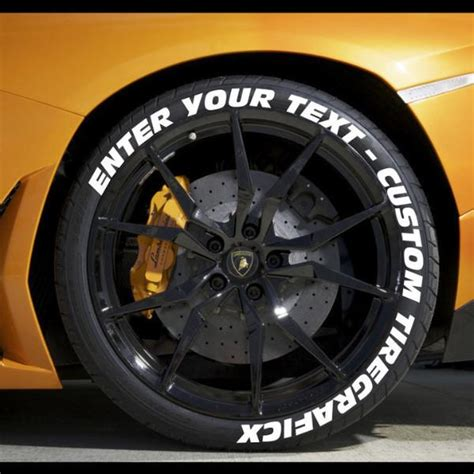 create   tire stickers full tire decal kit