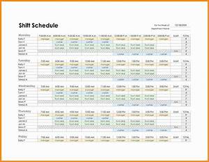 famous 10 hour schedule templates images example resume With 10 hour shift templates