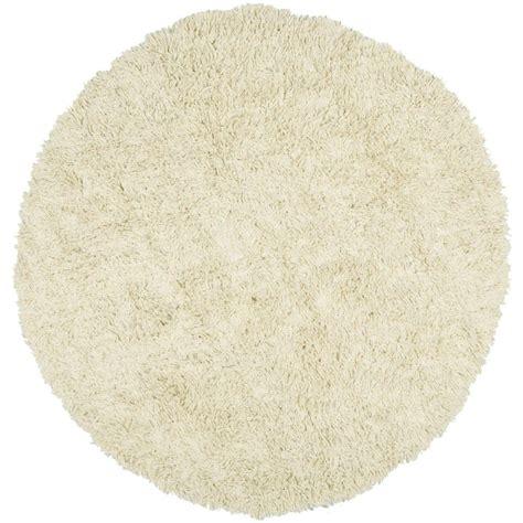 4 ft area rugs safavieh shag ivory 4 ft x 4 ft area rug