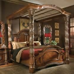 bedroom furniture villa valencia canopy bed by aico