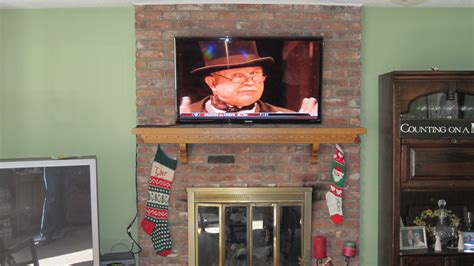 milford ct mount tv  fireplace home theater