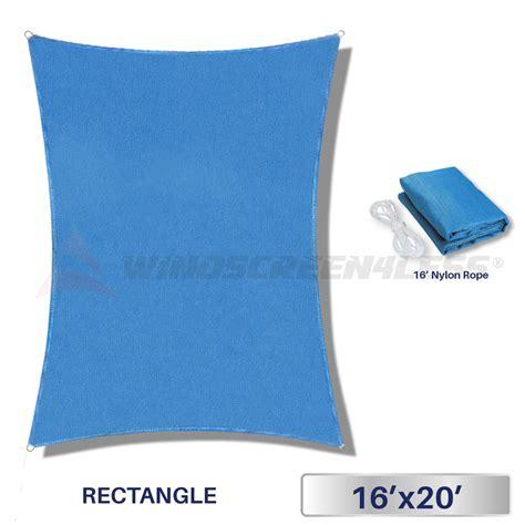 l shade fabric material 16 39 x 20 39 rectangle sun shade sail fabric outdoor canopy