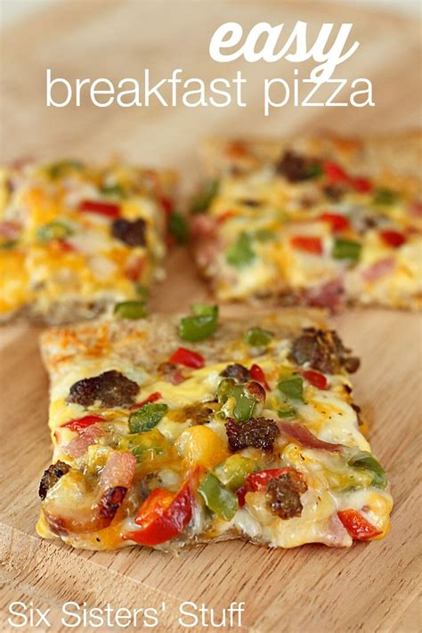 easy breakfast pizza recipe from six sisters stuff is a