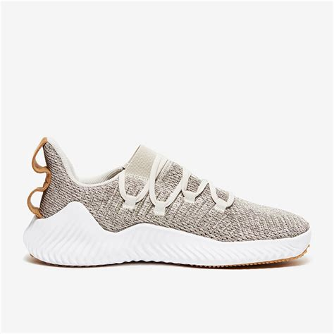 adidas alphabounce trainer raw white mens shoes