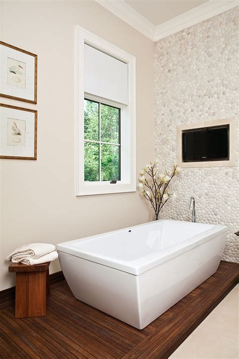 bathroom tile feature ideas 132 best images about wall tile ideas pebble and