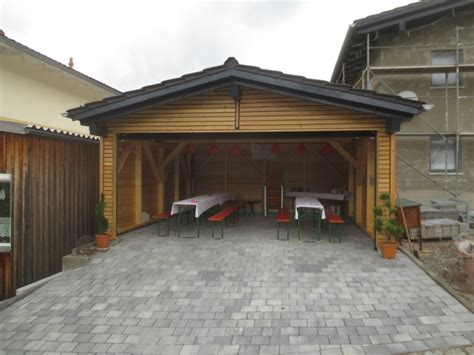 carport aus rundstämmen garage innen verkleiden doppelgarage fink garage ansicht einer garage innen projekt der