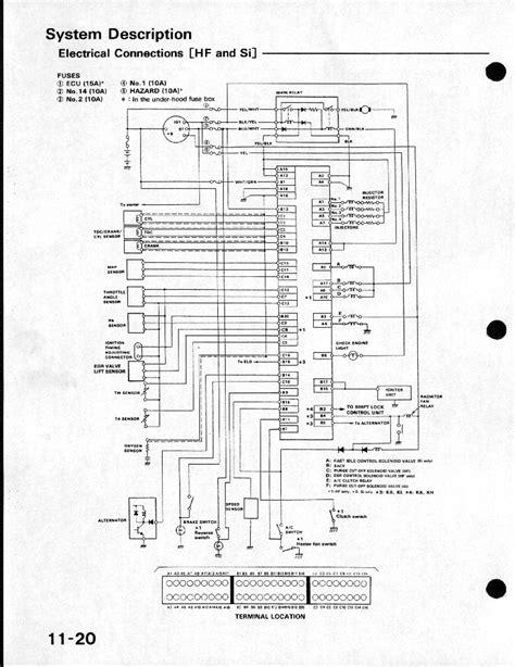 2005 honda civic ecu pinout diagram honda auto parts catalog and diagram