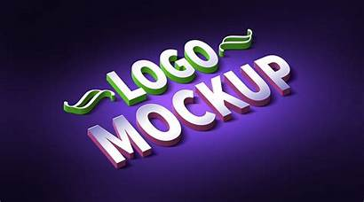 Mockup Text Psd 3d Effect Logos Font
