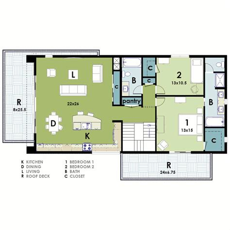 contemporary house floor plans ultra modern house plan
