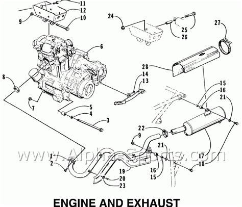 Tiger Shark Wiring Diagram by Arctic Cat 300 Wiring Diagram Engine Diagram And Wiring