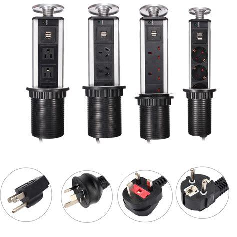 kitchen island electrical outlet worktop kitchen tensile power outlet usb pop up socket eu