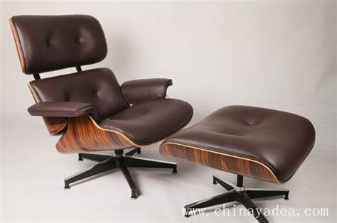 aniline leather eames lounge chair modern classic furniture