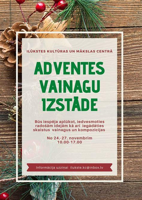 Gaidot Adventi - Ilūkstes novada pašvaldība