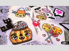 Halloween Drawings How To Draw Kawaii Candies by Garbi