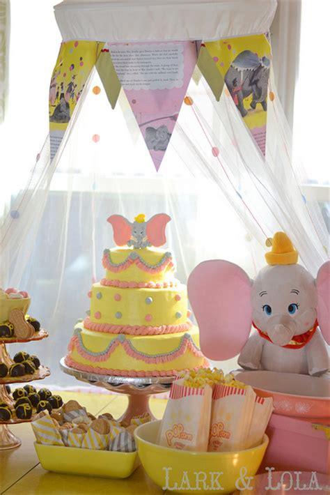 Dumbo Themed Birthday Party  Party Ideas Pinterest